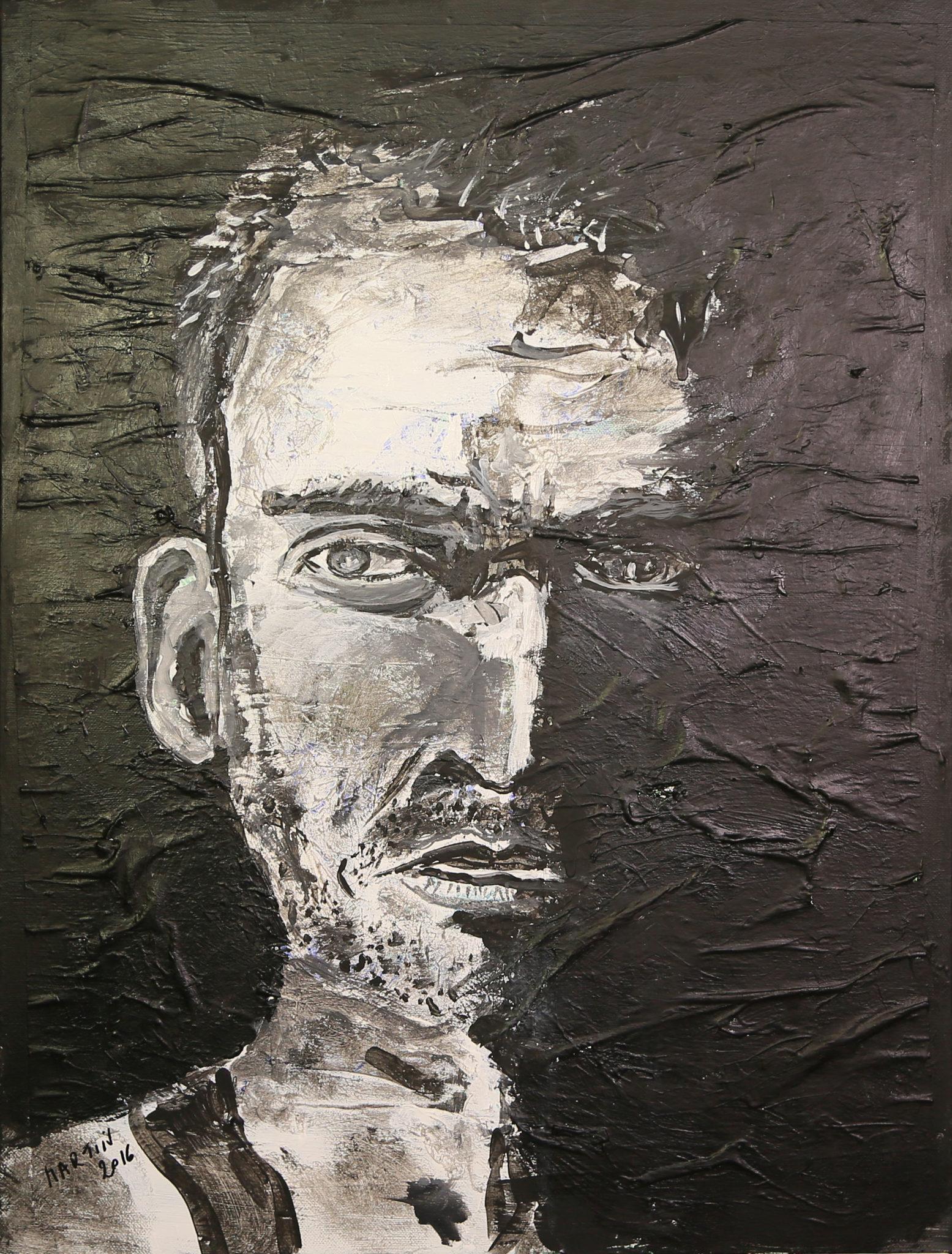 Portrait soldat